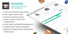 Plugin School Management System for WordPress 31.0