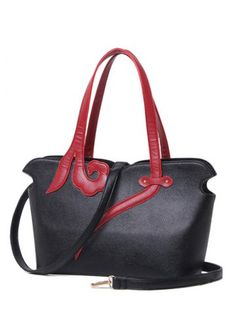 GET $50 NOW   Join RoseGal: Get YOUR $50 NOW!http://www.rosegal.com/shoulder-bags/pu-leather-two-tone-stitching-shoulder-731523.html?seid=3185995rg731523