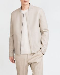 FAUX LEATHER JACKET-View all-Jackets-MAN | ZARA United States