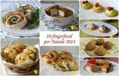 10 Antipasti fingerfood per Natale 2014 ricette facili il chicco di mais
