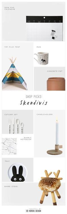 Shop Picks: Skandivis