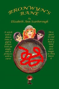 Once Upon a Blog . . .: Book of the Day May 10 --> Princess Bronwyn (the Bold) of Argonia was cursed at birth to tell nothing but lies. But what happens when her cousin Carol, a gypsy lad and a princess-turned-swan set off on a quest together? Bronwyn's Bane by Elizabeth Ann Scarborough. Available from Amazon, Barnes and Noble, Smashwords, other fine eBook vendors and Gypsy Shadow Publishing at: http://www.gypsyshadow.com/ElizabethScarborough.html#Bronwyn