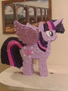 Piñata My Little Pony Twilight Sparkle Diferentes Caricatura - $ 349.00 en Mercado Libre
