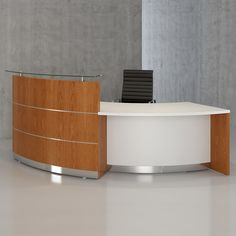 Scene Reception Desks are a custom made office furniture solution. Bespoke receptionist desks help present a professional welcome to your office building. Reception Table Design, Office Reception Area, Office Table Design, Reception Counter, Reception Areas, Receptionist Desk, Front Elevation Designs, European Home Decor, Custom Made Furniture