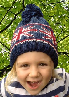 Children's Union Flag Bobble/Beanie Hat Great to keep out the winter chills, your children will love these patriotic Union Flag bobble/beanie hats.  High quality, 100% soft touch Acrylic Bobble/Beanie hats for a great fit, feel and look.