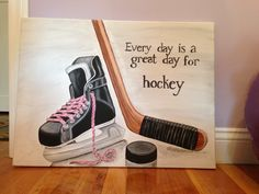 Its a great day for hockey Hockey Crafts, Hockey Decor, Hockey Room, Bruins Hockey, Hockey Teams, Hockey Stuff, Montreal Canadiens, Hockey Drawing, Hockey Pictures