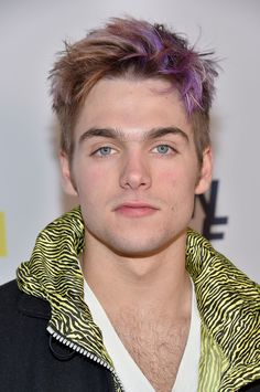 Dylan Sprayberry Does Colored Hair for Teen Wolf Premiere Party
