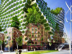 Как будет выглядеть Париж в будущем?PARIS SMART CITY 2050