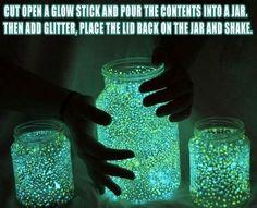 Glowstick Jars