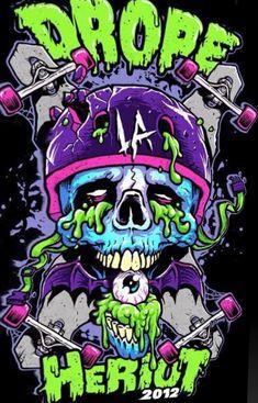 Drope La Heriot 2012 – Graffiti World Art And Illustration, Zombie Illustration, Illustrations, Graffiti Art, Graffiti Painting, Arte Dope, Dope Art, Trippy Wallpaper, Graffiti Wallpaper