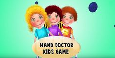 #DoctorGame Choose your favourite kids patients in this #HandDoctorgame and give treatment them with real #DoctorTools.