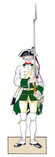 Prinz Maximilian Infantry - Project Seven Years War