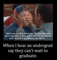 HAHAHAHAHA The 20 emotions you'll experience when graduating from college Billy Madison, Laughter Quotes, Funny People, Funny Things, Story Of My Life, Just For Laughs, Movie Quotes, Laugh Out Loud, Funny Photos