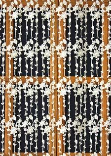 Light macrame lace curtain