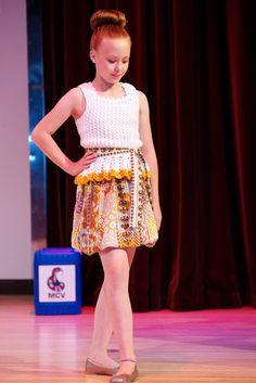 """Anzhelika Crochet """"Tribe Collection"""" at the Enkare Fashion Show 6-28-14"""