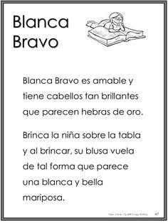 Libro magico para fotocopiar (1) Spanish Activities, Language Activities, Spanish Class, Teaching Spanish, Phonological Awareness, Spanish Language, Kids Education, Reading Comprehension, Preschool