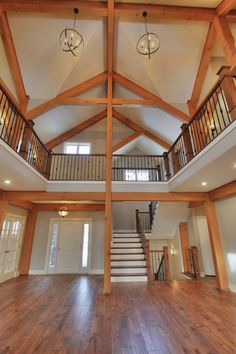home decor apartment Pole Barn House Plans, Pole Barn Homes, Dream House Plans, House Floor Plans, Shed Homes, Cabin Homes, Metal Building Homes, Building A House, Barn Living