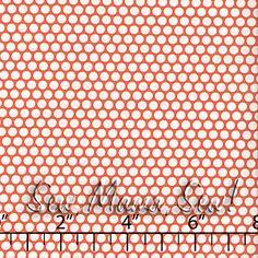 Honeycomb Dot Orange ~ Kei