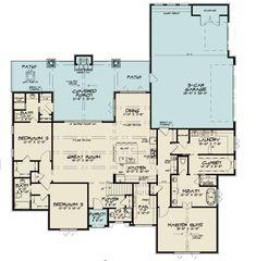 European Plan, European House Plans, Best House Plans, Dream House Plans, House Floor Plans, Cottage Floor Plans, Building Plans, Building A House, Building Ideas