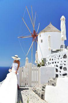 Santorini, Greek, Grecja, Kiklades, Cykady
