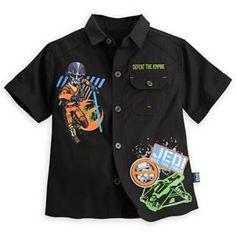 Star Wars Rebels Woven Shirt for Boys