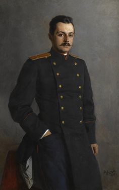 Nikolai Yaroshenko (Ukrainian, 1846-1898), Self-portrait, 1894. Oil on canvas.