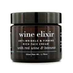Apivita Wine Elixir AntiWrinkle and Firming Rich Face Cream 176 oz * Want to know more, click on the image. (Note:Amazon affiliate link)