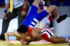 Grecorroman wrestling.  Cadet world championship.  Fila.  Lucha grecorromana.  Campeonato del mundo cadete.