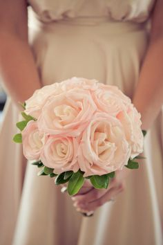 So soft and elegant. | Wedding bouquet