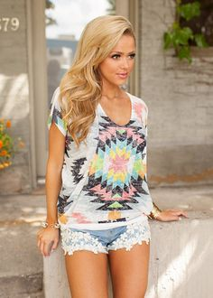 Online boutique. Best outfits. Beaming with Beauty Top - Modern Vintage Boutique