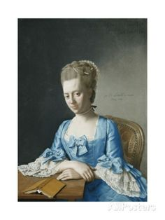 Portrait of Grace, Countess of Clanbrassil  By: Jean-Etienne Liotard