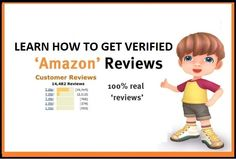 Learn how to get verified amazon reviews to boost your sales http://tinyurl.com/m4alj7r