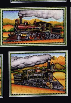Train Fabric Craft Ideas Pinterest Fabrics Yards