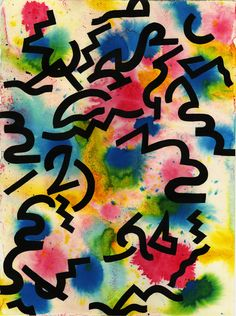 Graffiti Shapes & Colors by Eddie Perrote Textile Patterns, Print Patterns, Textiles, Fabric Paint Designs, Fabric Design, Web Design, Memphis Pattern, Graffiti Prints, Pattern Illustration
