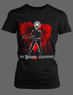 My Bloody Valentine horror movie tee