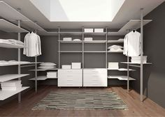 Inloopkast walk in closet showroom beerens interieurs goes