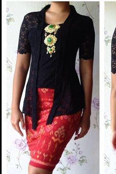 #dress #kutubaru #batik #kebaya #from #inspirations #reference