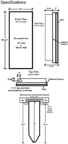 Entry door jamb width illustration common jamb sizes 4 916 5 1 image result for ironing board wall mount dimensions ccuart Images