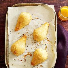 Pear Dumplings with Maple-Orange Sauce From Better Homes and Gardens, ideas and improvement projects for your home and garden plus recipes and entertaining ideas.
