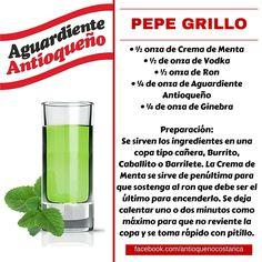 ¡Aguardiente Antioqueño combina con todo! #Aguardiente #Antioqueño #Coctel #Cocktail #PepeGrillo