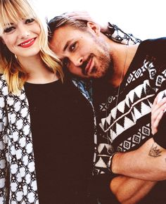Emma Stone & Ryan Gosling These two have amazing chemistry together!