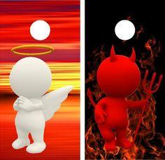 3D Angel Devil Fire Sunset Cornhole Game Decal Wraps Set | eBay