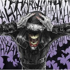 Happy #BatmanDay! If you know the artist behind this please tag them so I can credit the pic. #TheBatmanWhoLaughs #Batman #Joker #TheJoker #KillingJoke Thanks to @thatdamnartpage where I found this!