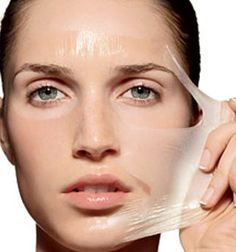 DIY- make your own peel-off face mask!