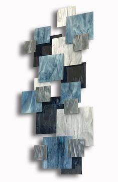 Arctic II by Karo Martirosyan (Art Glass Wall Sculpture) Metal Wall Sculpture, Abstract Sculpture, Wall Sculptures, Abstract Art, Unique Wall Decor, Metal Wall Decor, Art Decor, Behind The Glass, Picasso Paintings