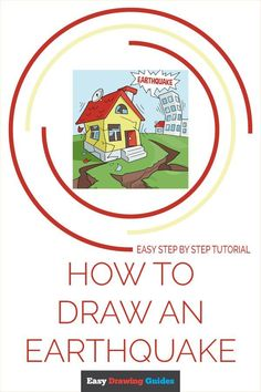 Learn to draw an Earthquake. This step-by-step tutorial makes it easy. Kids and beginners alike can now draw a great earthquake. Diy Arts And Crafts, Crafts For Kids, Drawing Tutorials For Kids, Drawing Exercises, Nature Drawing, Exercise For Kids, Step By Step Drawing, Classroom Activities, Learn To Draw