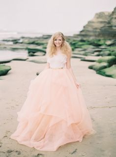 Strandhochzeit in Rosa und Gold ~ Styled Shoot ~ Ashley Kelem Photography | brautsalat.de