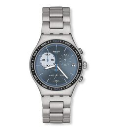 Blue Wink from Swatch Irony Chrono Collection    15 minutes past them diamonds...