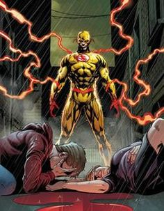 Batman and The Flash covers by Jason Fabok look fucking awesome! The return of Flashpoint Batman aka Dr. Thomas Wayne and Reverse Flash who apparently survived getting stabbed in the back by. Marvel Comics, Comics Anime, Flash Comics, Hq Marvel, Arte Dc Comics, Comic Villains, Dc Comics Characters, Comic Book Artists, Comic Books Art