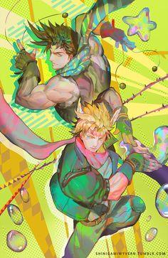 Battle Duo by Shinigamiwyvern